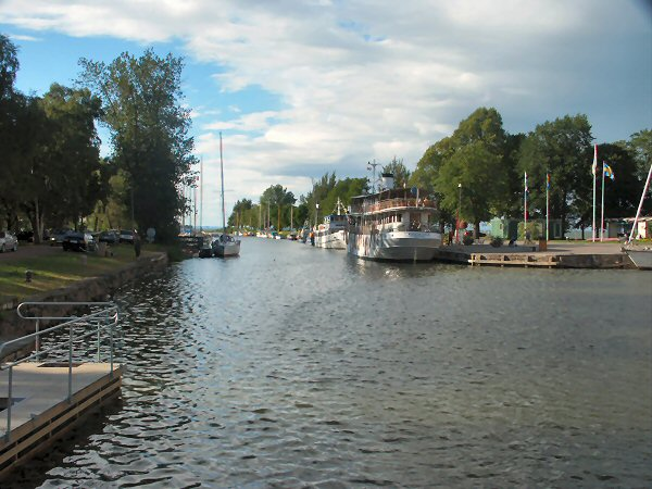 Vadstena Harbour